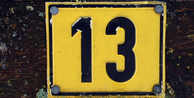 Indicación de 13