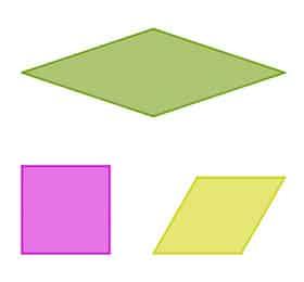 Definición de paralelogramo - Qué es, Significado y Concepto