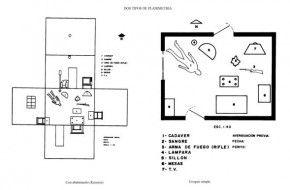 Topograf a y planimetr a forense portafolio laura lara for Planimetria di una casa