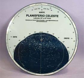 Definición de planisferio