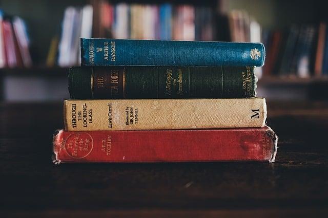 Lomo de libros