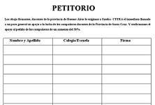 Petitorio