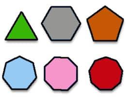 definición de polígono regular qué es significado y concepto