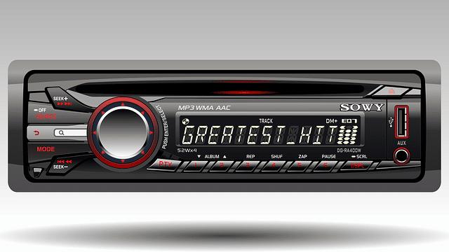Radio en el coche