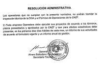 Resolución administrativa