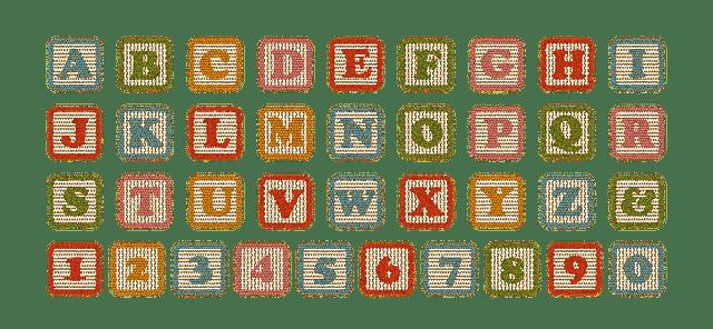 Letras y números
