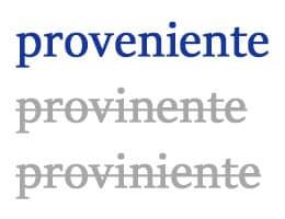 Proveniente
