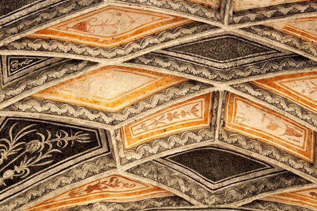 Esgrafiado ornamentación