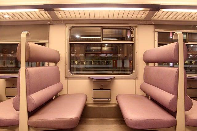 Tapicería tren
