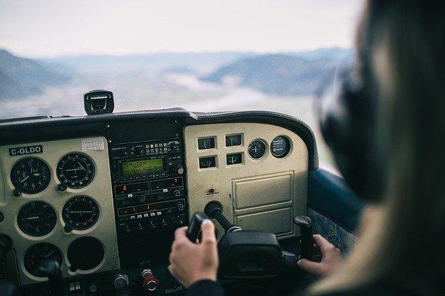 Helicóptero controles
