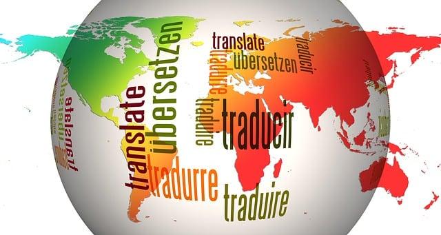 Multilingüe mapa