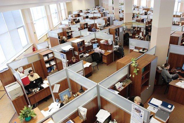 Cubículo oficina