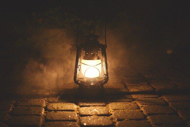 Elucubrar lámpara noche