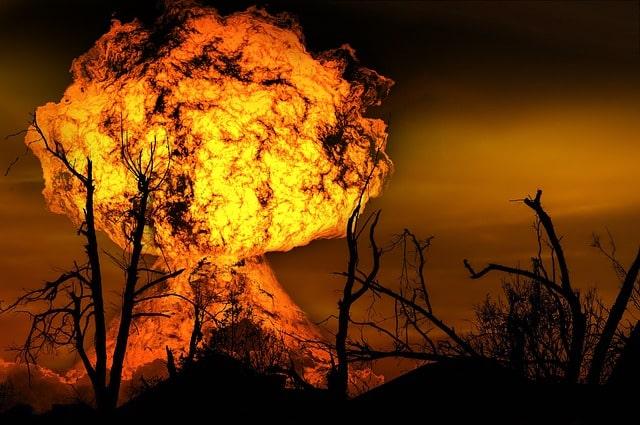 Estrépito explosión