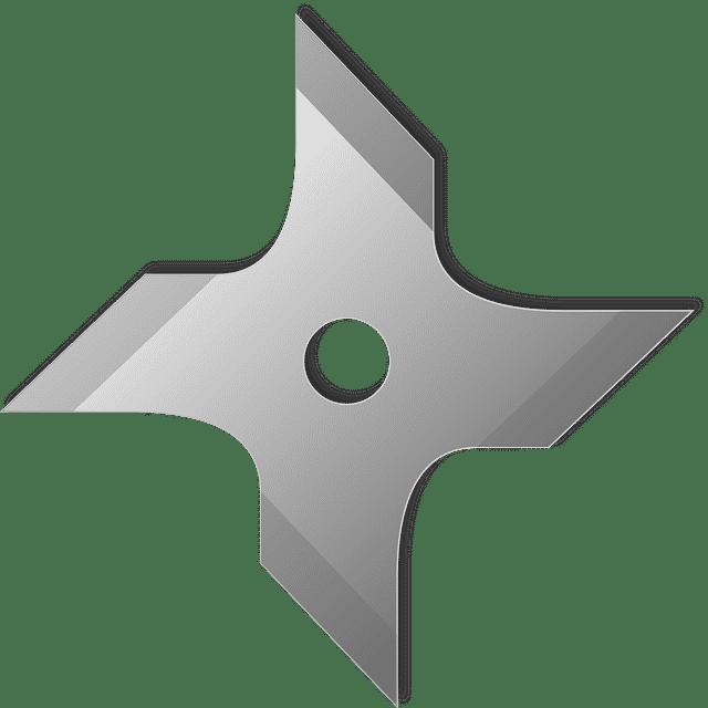 Shuriken estrella