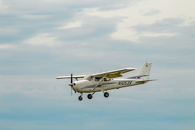 Avión ligero Cessna 172