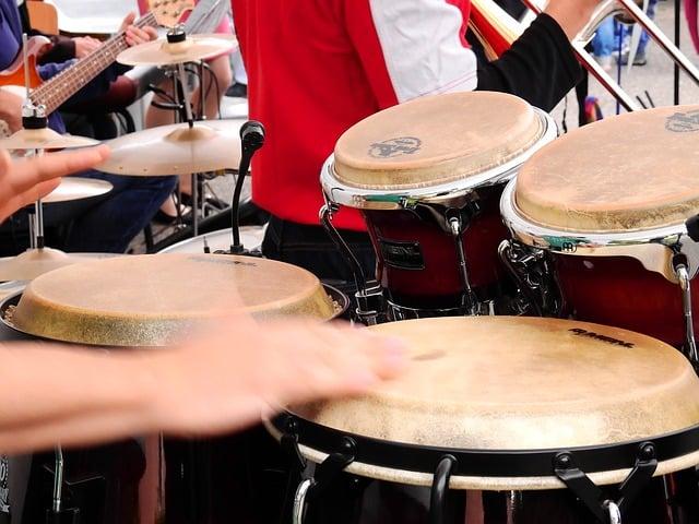 Bongó percusión
