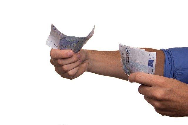 Recibir dinero